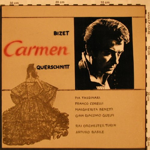 Bizet,Georges: Carmen-Highlights from, Cetra, Bad Condition(OLPC 55020), I,  - LP - L5257 - 4,00 Euro