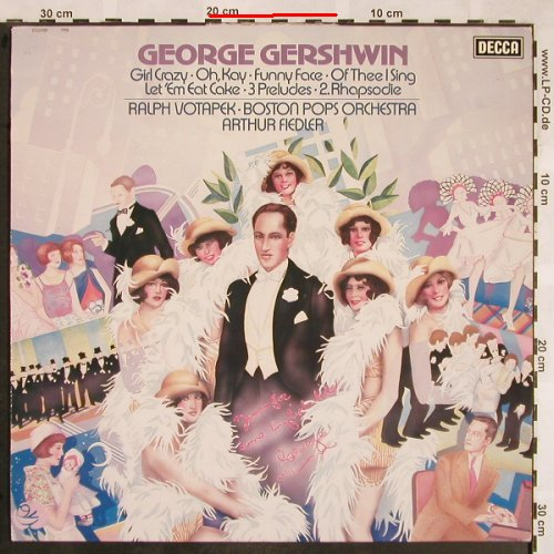 Gershwin,George: Same-Girl Crazy.., m-/vg+, stoc, Decca(6.42509 AS), D, 1979 - LP - L5486 - 5,00 Euro