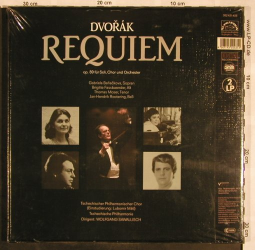 Dvorak,Antonin: Requiem op.89, Box, FS-New, Supraphon(302 431-435), D,  - 2LP - L5494 - 15,00 Euro