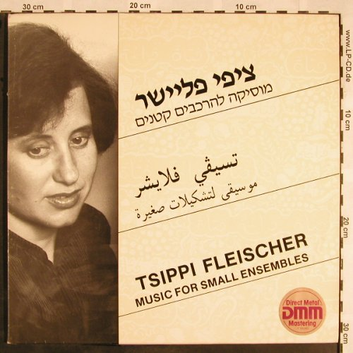 Fleischer,Tsippi: Music for small Ensembles,Foc,Noten, Hataklit, vg+/vg+(DD 35362), Israel, 1986 - LP - L5699 - 7,50 Euro