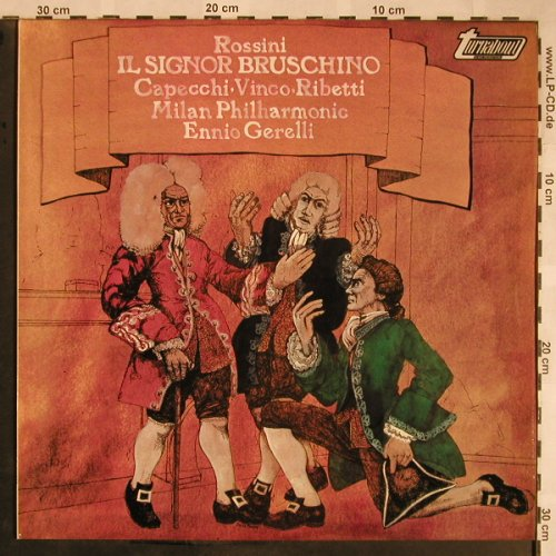 Rossini,Gioacchino: Il Signor Bruschino, m-/stoc, Turnabout(TV 34158S), UK,  - LP - L5759 - 7,50 Euro