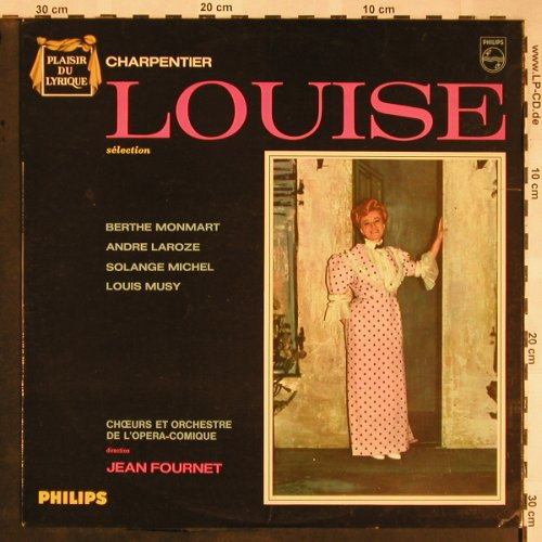 Charpentiers,Gustave: Louise, selection, Philips(G 03.118 L), F,  - LP - L5792 - 7,50 Euro
