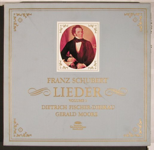 Schubert,Franz: Lieder Vol.1, Box, 56 S.Booklet, D.Gr.(2720 006), D, 1969 - 12LP - L6005 - 30,00 Euro