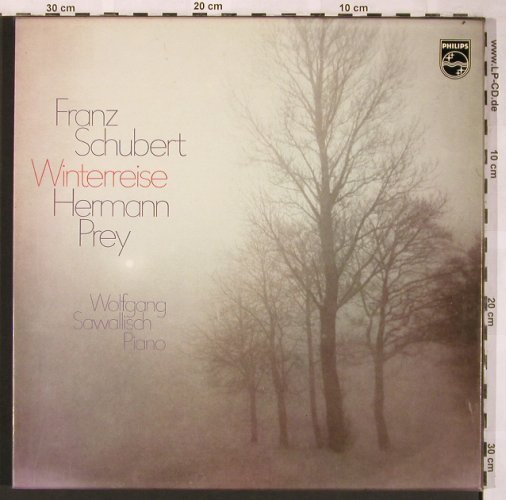 Schubert,Franz: Winterreise, (Box vg+), Philips(6747 033), D,  - 2LP - L6083 - 7,50 Euro