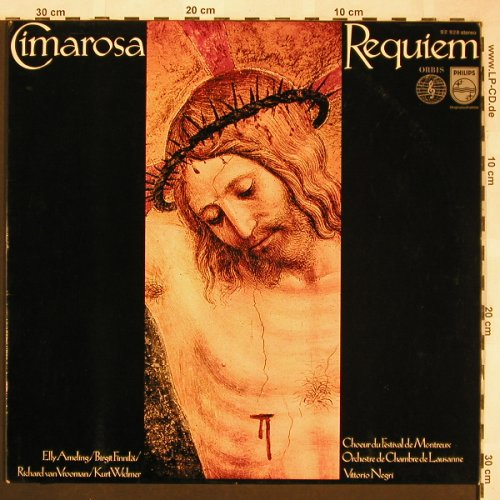 Cimarosa,Domenico: Requiem, Orbis/Philips(92 928), D,  - LP - L6115 - 6,00 Euro