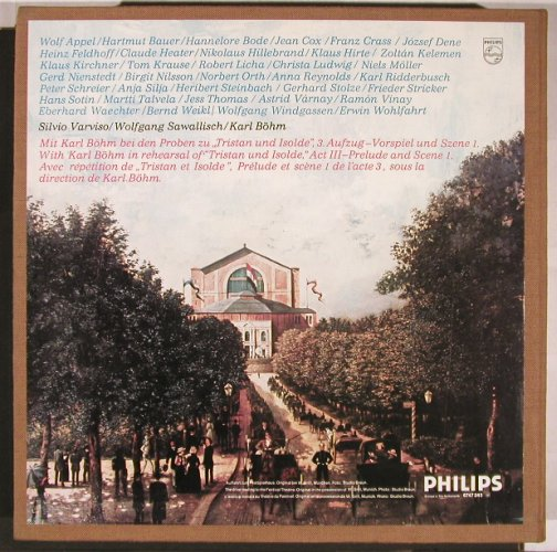 Wagner,Richard: Lohengrin/Tristan & Isolde,Meisters, Philips(like new)(6747 243), NL, Box,  - 14LP - L6126 - 95,00 Euro