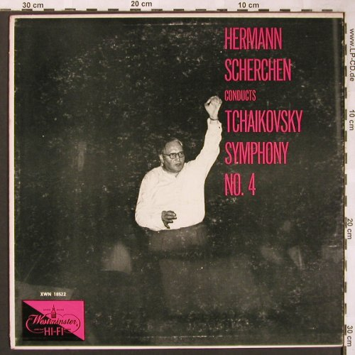 Tschaikowsky,Peter: Symphony No.4 in F Minor, op.36, Westminster(XWN 18522), US, m-/vg+,  - LP - L6169 - 5,00 Euro