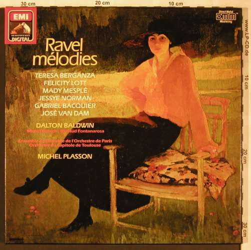 Ravel,Maurice: Melodies, Box(stoc on Box&Booklet), EMI(EX 27 0139 3), D,  - 3LP - L6331 - 9,00 Euro