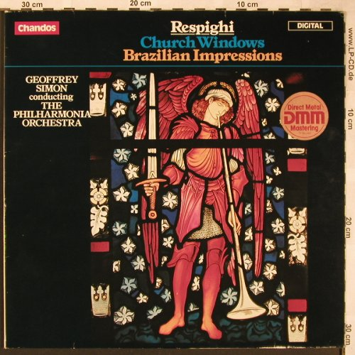 Respighi,Ottorino: Church Windows, Brazilian Impressio, Chandos(ABRD 1098), D, stoc, 1984 - LP - L6339 - 7,50 Euro