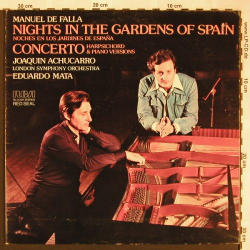 de Falla,Manuel: Nights in the Garden of Spain, RCA(RL 31229), I, vg+/vg+, 1977 - LP - L6361 - 5,00 Euro