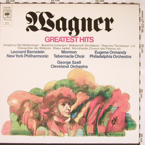 Wagner,Richard: Greatest Hits, CBS(S 30 008), NL, 1971 - LP - L6397 - 3,00 Euro