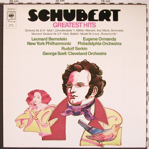 Schubert,Franz: Greatest Hits, CBS(S 30 013), NL, 1972 - LP - L6402 - 3,00 Euro