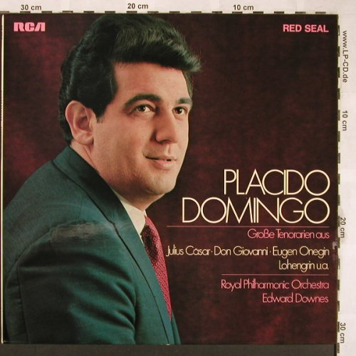 Domingo,Placido: Große Tenorarien, RCA Red Seal(SAR 22 067), D,  - LP - L6415 - 6,00 Euro