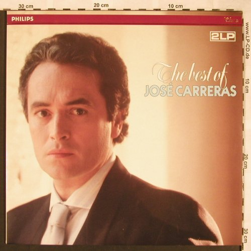 Carreras,Jose: The Best Of, Philips(422 570-1), NL,  - 2LP - L6427 - 7,50 Euro