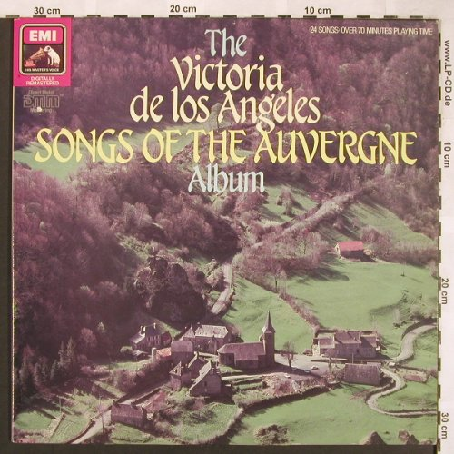 De Los Angeles,Victoria: Songs Of The Auvergne Album, EMI(EL 29 0802 1), UK,  - LP - L6435 - 7,50 Euro