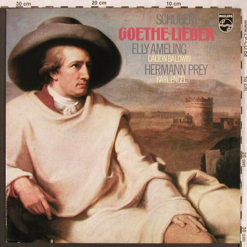 Schubert,Franz: Goethe-Lieder, Philips(6500 515), NL, co, 1973 - LP - L6577 - 6,00 Euro