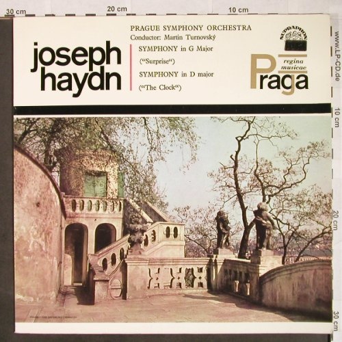 Haydn,Joseph: Symphony in G Major,Surprise/Clock, Supraphon(SUA ST 50572), CZ, 1964 - LP - L657 - 7,50 Euro