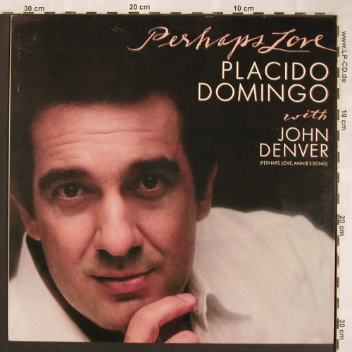 Domingo,Placido: Perhaps Love with John Denver, CBS(73592), NL, 1981 - LP - L6656 - 6,00 Euro