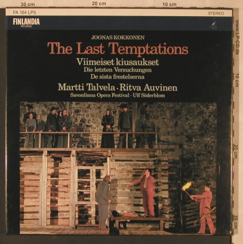 Kokkonen,Joonas: The Last Temptations, Box, FS-New, Finnlandia(FA 104 LP3), SF, 1984 - 3LP - L6805 - 30,00 Euro
