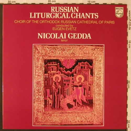 V.A.Russian Liturgical Chants: Ivanov...Kastalsky, Philips(6504 135), NL, 1975 - LP - L6820 - 7,50 Euro