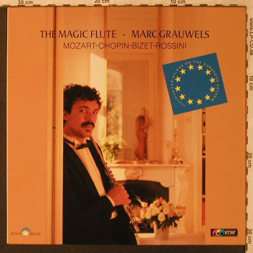 Grauwels,Marc: The Magic Flute, CNR/RTBF(655.248), D, 1987 - LP - L6911 - 5,00 Euro