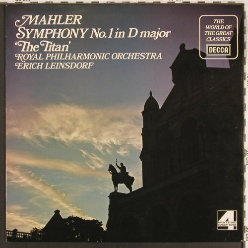 Mahler,Gustav: Sinfonie Nr.1 in D major,The Titan', Decca(SPA 521), UK, 1972 - LP - L6987 - 6,00 Euro