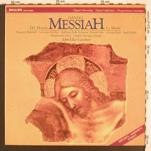 Händel,Georg Friedrich: Der Messias-Highlights, Eterna/Philips(725 104), DDR, 1987 - LP - L7111 - 4,00 Euro
