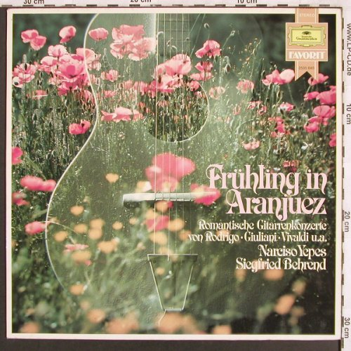Yepes,Narciso / Siegfried Behrend: Frühling in Aranjuez, D.Gr.Favorit(2535 640), D,  - LP - L7125 - 5,00 Euro