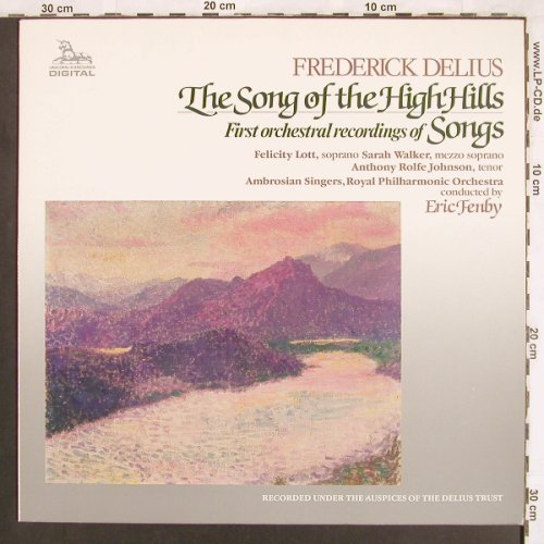 Delius,Frederick: The Song of the High Hills,VG+/m-, Unicorn-Kanchana(DKP 9029), NL, 1984 - LP - L7274 - 4,00 Euro