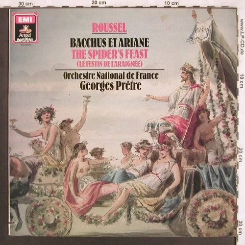 Roussel,Albert: Bacchus et Ariane/The Spiders Feast, Angel(DS-38263), D/CDN, co, 1986 - LP - L7293 - 7,50 Euro