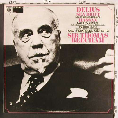 Delius,Frederick: Sea Drift / Hassan, CBS(61224), UK,  - LP - L7365 - 6,00 Euro