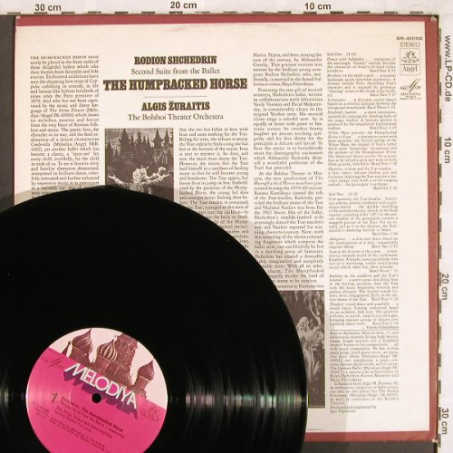Shchedrin,Rodion: The Humpbacked Horse, Melodia(SR-40106), US,  - LP - L7421 - 7,50 Euro
