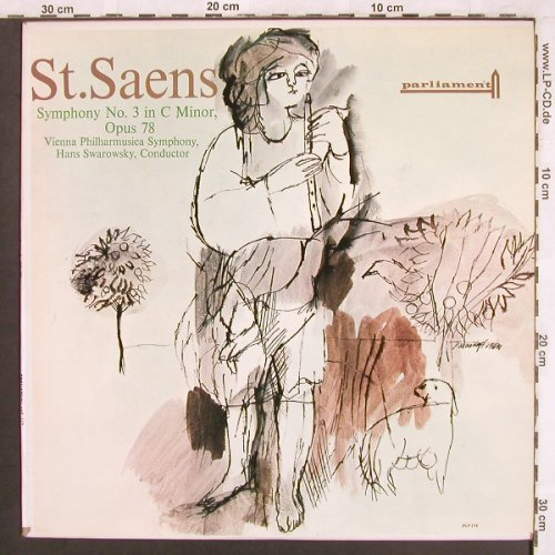 Saint-Saens,Camille: Symphony No.3 in C Minor, op.78, Parliament(PLP 174), US, vg+/m-,  - LP - L7431 - 5,00 Euro