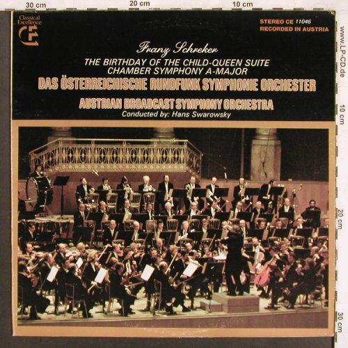 Schrecker,Franz: The Birthday of the Child-Queen Sui, Classical Excellence(CE 11046), US, 1977 - LP - L7471 - 9,00 Euro