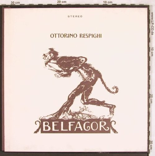 Respighi,Ottorino: Belfagor, Box, m-/vg+, Private Recording(BJRS 1222), US, 1971 - 2LP - L7602 - 15,00 Euro