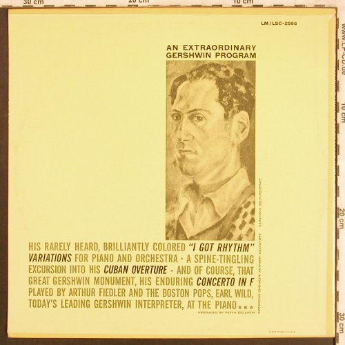 Gershwin,George: Concerto in F, Cuban Overture, RCA Victor(LSC-2586), US,  - LP - L7614 - 7,50 Euro