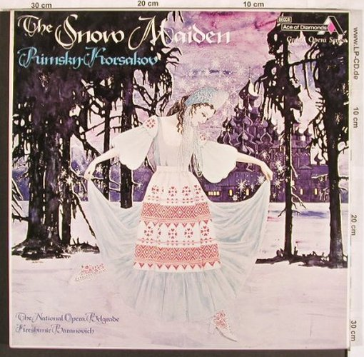 Rimsky-Korsakov,Nicolai: The Snow Maiden, Box, Ace of Diamonds(GOS 642-5), UK, Ri,  - 4LP - L7618 - 15,00 Euro