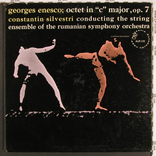 Enesco,Georges: Octet in C major,op.7, Foc, m-/vg+, Artia(ALP-119), US,  - LP - L7656 - 12,50 Euro