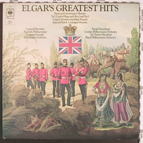 Elgar,Edward: Greatest Hits, CBS Harmony(30 055), UK,  - LP - L7660 - 6,00 Euro