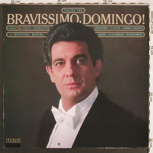 Domingo,Placido: Bravissimo,Domingo!, RCA Red Seal(RL 14414), D, 1982 - LP - L7707 - 6,00 Euro