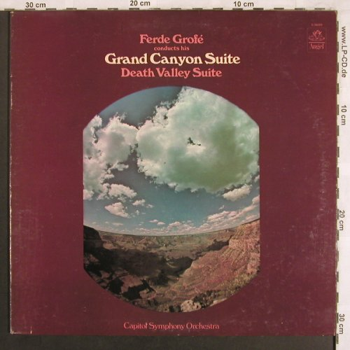 Grofé,Ferde: Grand Canyon Suite/Death Valley Sui, Angel/EMI(S-36089), US,vg+/m-,  - LP - L7719 - 7,50 Euro