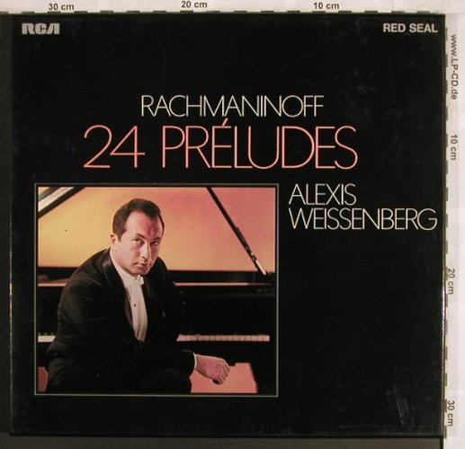 Rachmaninow,Sergej: 24 Preludes, Box, RCA Red Seal(RK 11 516/1-2), D, 1973 - 2LP - L7805 - 9,00 Euro