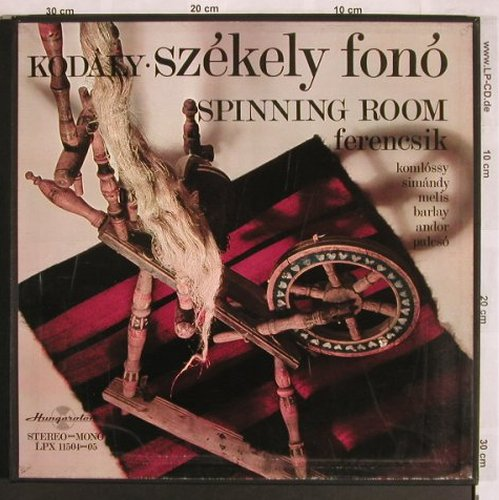 Kodaly,Zoltan: Szekely fono,Spinning Room, Box, Hungaroton(LPX 11504-05), H,  - 2LP - L7815 - 9,00 Euro