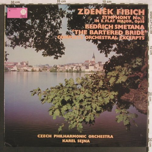 Fibich,Zdenek / Smetana: Symphony No.2 in E Flat Major,op.38, Rediffusion/Supraphon(HCN 8019), UK, 1978 - LP - L7909 - 7,50 Euro