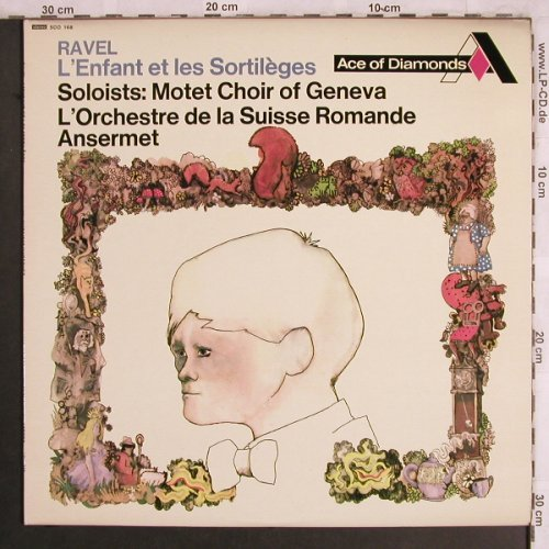 Ravel,Maurice: L'Enfant et les Sortileges, Ace of Diamonds(SDD 168), UK, 1967 - LP - L7938 - 7,50 Euro