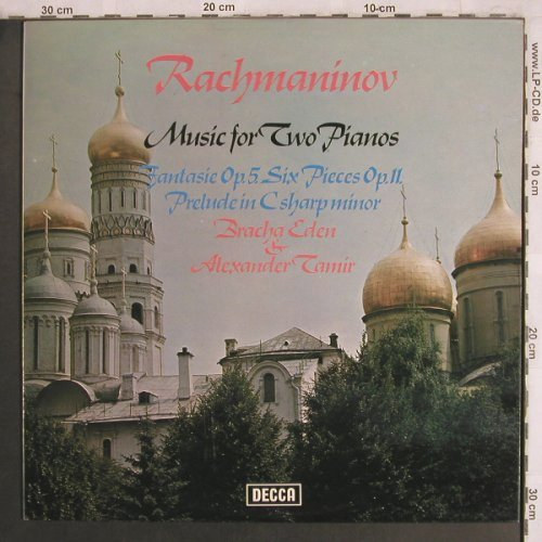 Rachmaninov,Sergej: Fantasie op.5,Six Pieces op.11, Decca(SXL 6618), UK, 1973 - LP - L7948 - 9,00 Euro