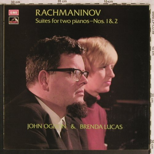 Rachmaninov,Sergei: Suites for two pianos,Nos. 1&2, EMI(HQS 1340), UK,vg+/m-, 1975 - LP - L7949 - 6,00 Euro