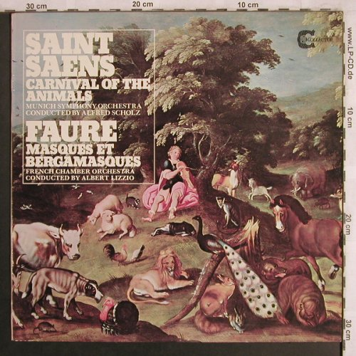 Saint-Saens,Camille / Faure: Carnival of the Animals/Masques e, PYE Collector(GSGC 15020), UK, 1976 - LP - L7951 - 7,50 Euro