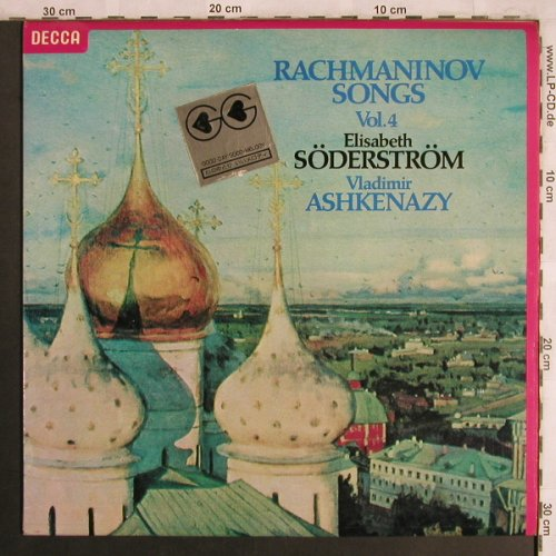 Rachmaninoff,Sergei: Songs, Vol.4, Decca(SXL 6869), UK, 1978 - LP - L7989 - 7,50 Euro