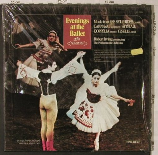 V.A.An Evening At The Ballet: 14 Tr., Box, Seraphim(SIC-6069), US,  - 3LP - L7998 - 9,00 Euro